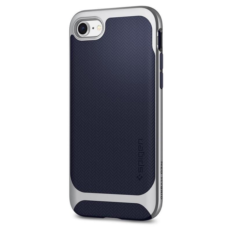 Spigen Neo Hybrid Herringbone Phone 8/7 Zilver - 6