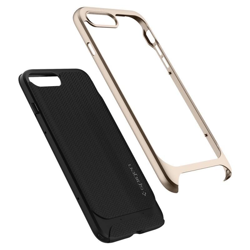 Spigen Neo Hybrid Herringbone iPhone 8 Plus/7 Plus Champagne - 3