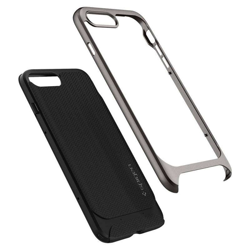 Spigen Neo Hybrid Herringbone iPhone 8 Plus/7 Plus Gunmetal - 3