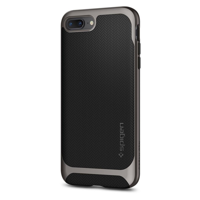 Spigen Neo Hybrid Herringbone iPhone 8 Plus/7 Plus Gunmetal - 7