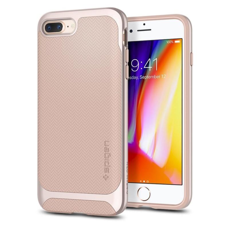 Spigen Neo Hybrid Herringbone iPhone 8 Plus/7 Plus Pale Dogwood - 1