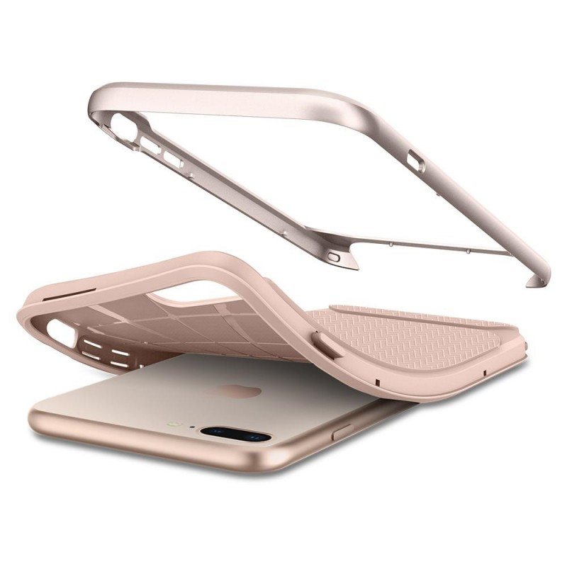 Spigen Neo Hybrid Herringbone iPhone 8 Plus/7 Plus Pale Dogwood - 4
