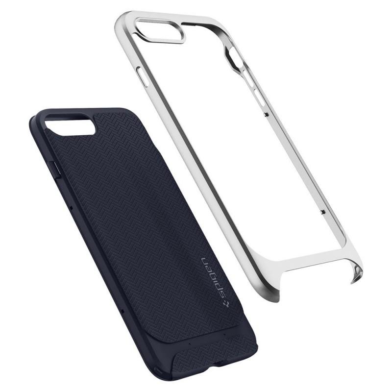 Spigen Neo Hybrid Herringbone iPhone 8 Plus/7 Plus Zilver - 2