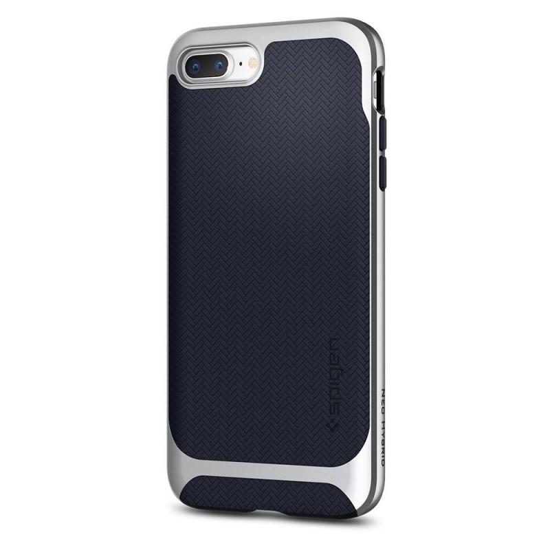 Spigen Neo Hybrid Herringbone iPhone 8 Plus/7 Plus Zilver - 6