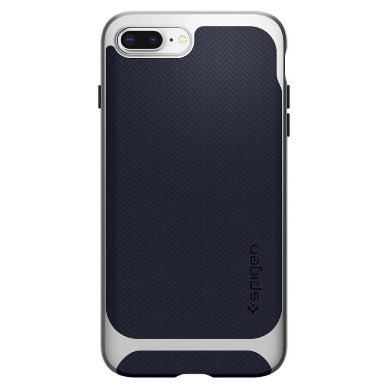 Spigen Neo Hybrid Herringbone iPhone 8 Plus/7 Plus Zilver - 5