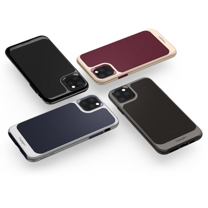 Spigen Neo Hybride iPhone 11 Pro Max Zwart - 6