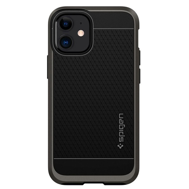 Spigen - Neo Hybrid iPhone 12 Mini 5.4 inch gunmetal 02