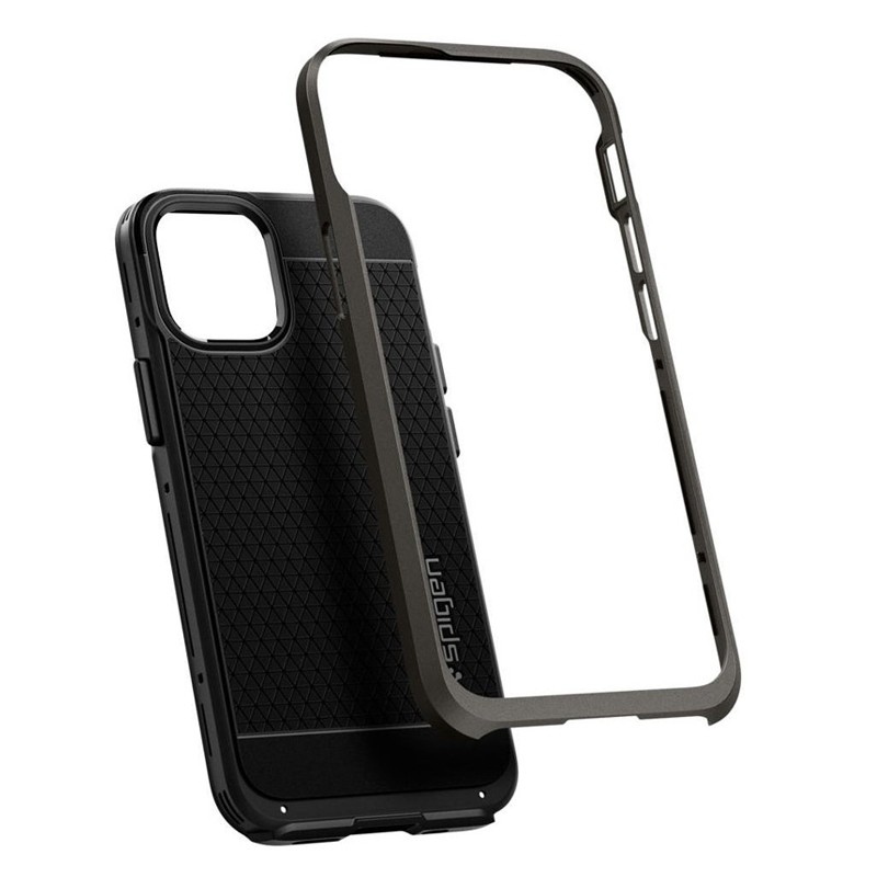 Spigen - Neo Hybrid iPhone 12 Mini 5.4 inch gunmetal 04