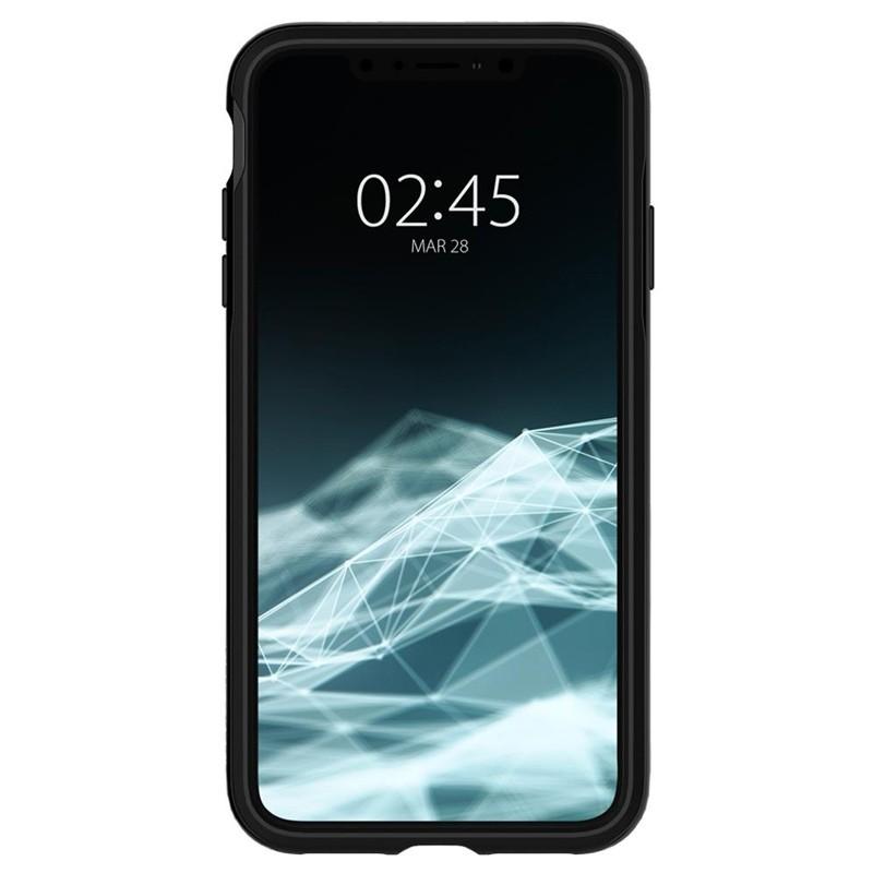 Spigen Neo Hybrid iPhone XS Max Hoesje Jet Black 02