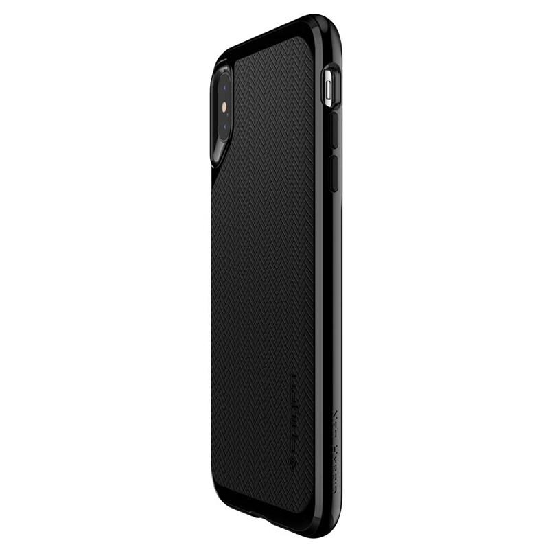 Spigen Neo Hybrid iPhone XS Max Hoesje Jet Black 05