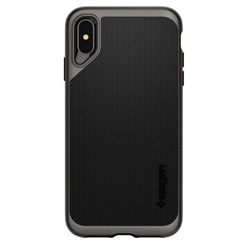 Spigen Neo Hybrid iPhone XS Max Hoesje Gunmetal 01