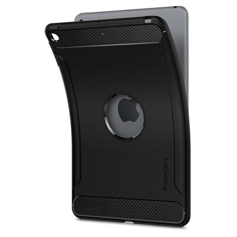 Spigen Rugged Amor Case iPad Mini 5 Zwart - 4