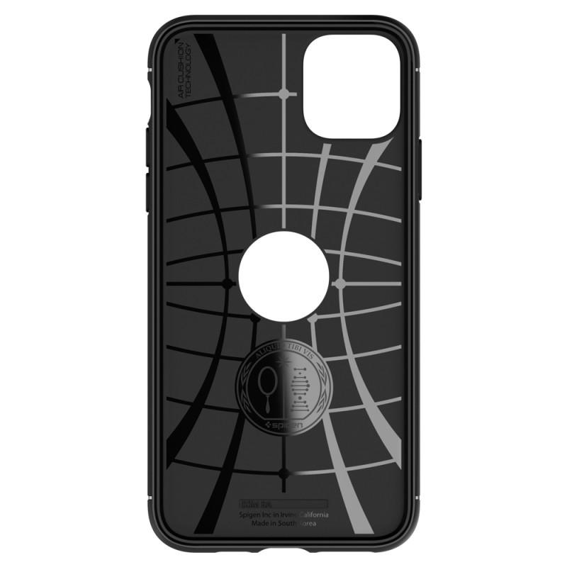 Spigen Rugged Armor Case iPhone 11 Pro Max Zwart - 8