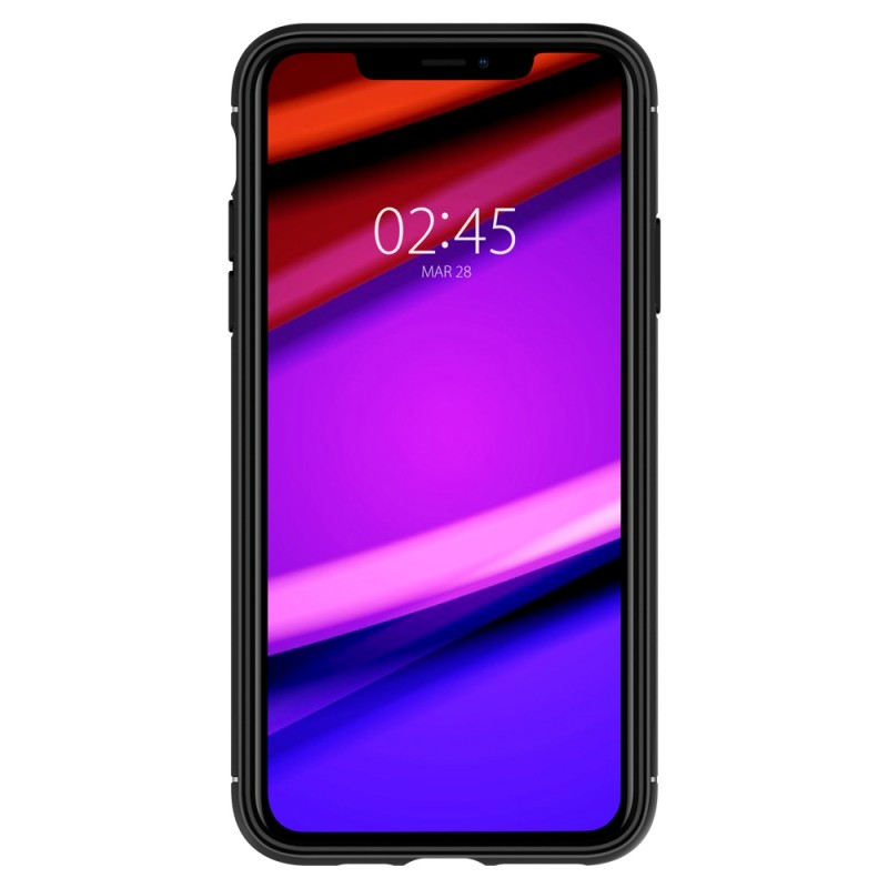 Spigen Rugged Armor Case iPhone 11 Pro Zwart - 4