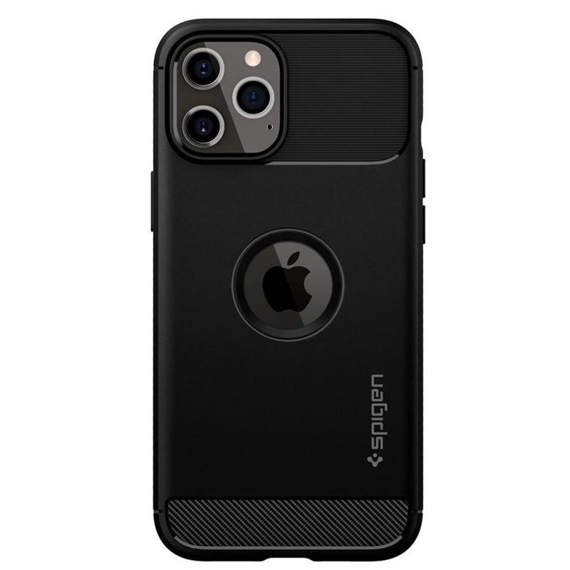 Spigen - Rugged Armor iPhone 12 / iPhone 12 Pro 6.1 inch zwart 02