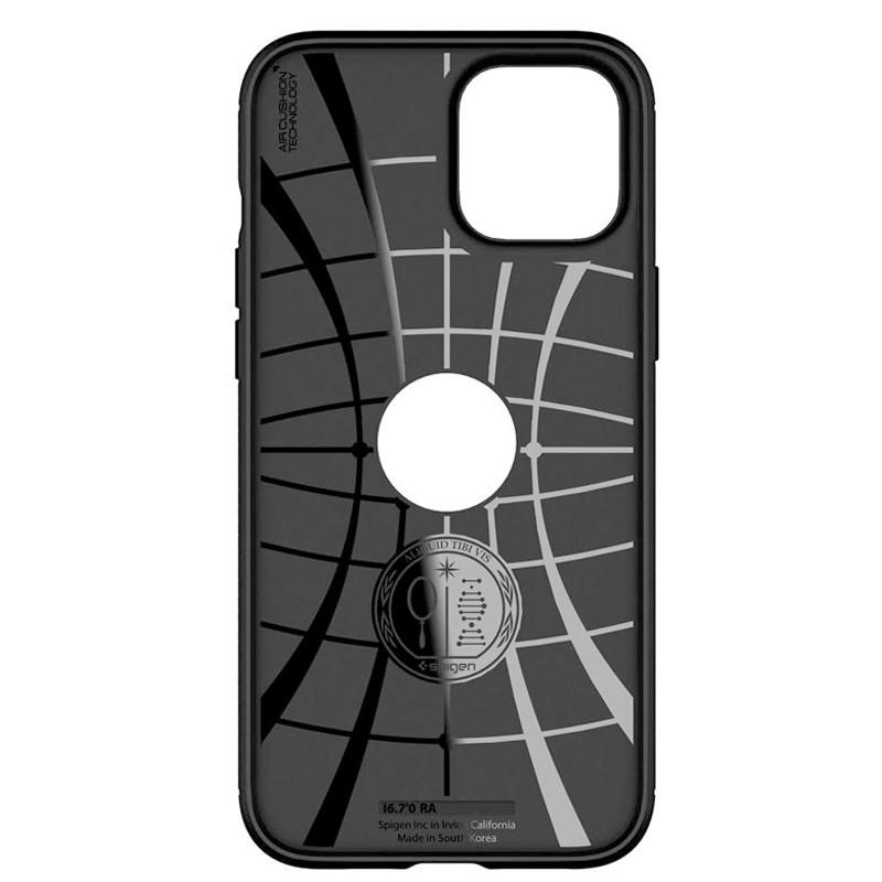 Spigen - Rugged Armor iPhone 12 / iPhone 12 Pro 6.1 inch zwart 04