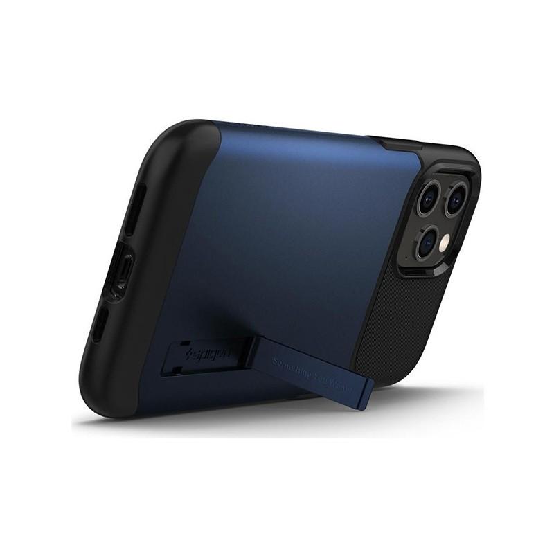 Spigen Slim Armor iPhone 12 Pro Max 6.7 inch Blauw 03