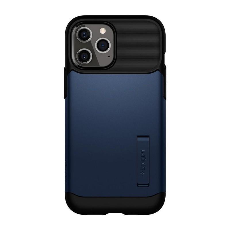 Spigen Slim Armor iPhone 12 Pro Max 6.7 inch Blauw 02