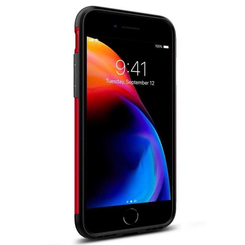 Spigen Slim Armor Case Phone 8/7 Rood - 5