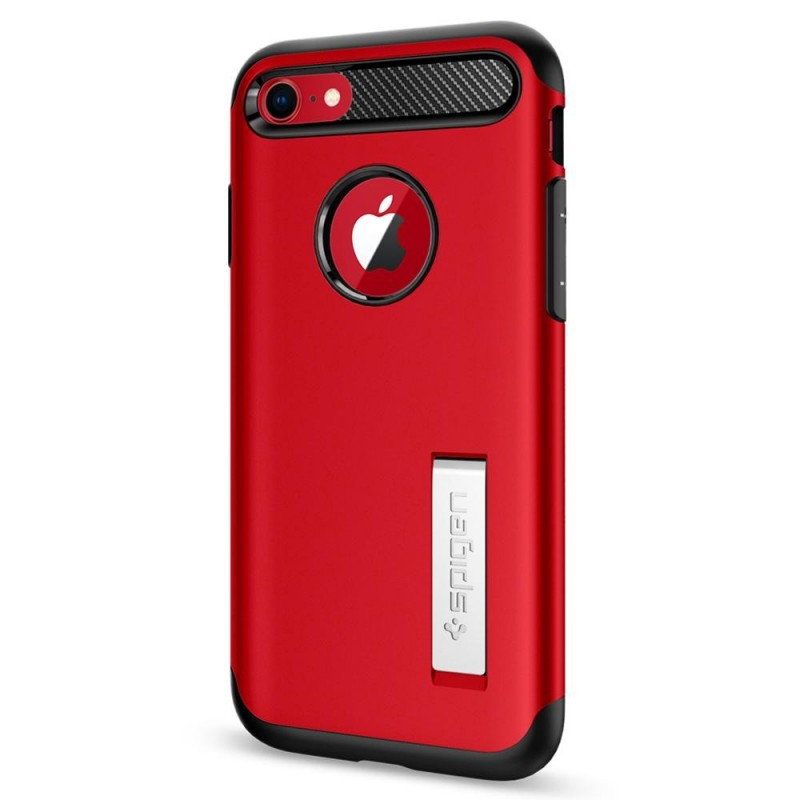 Spigen Slim Armor Case Phone 8/7 Rood - 6
