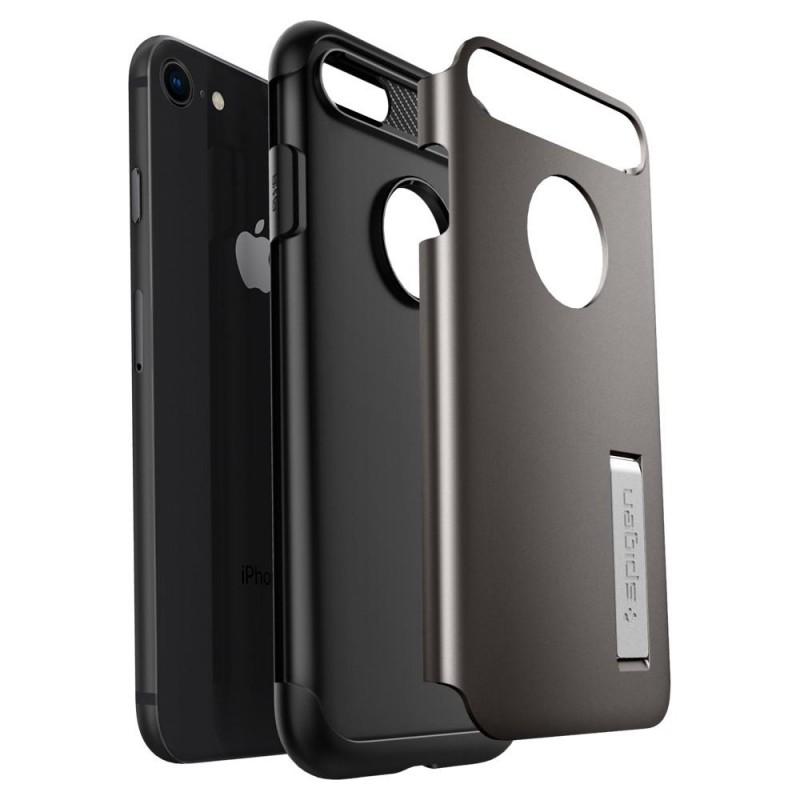 Spigen Slim Armor Case Phone 8/7 Gunmetal - 3