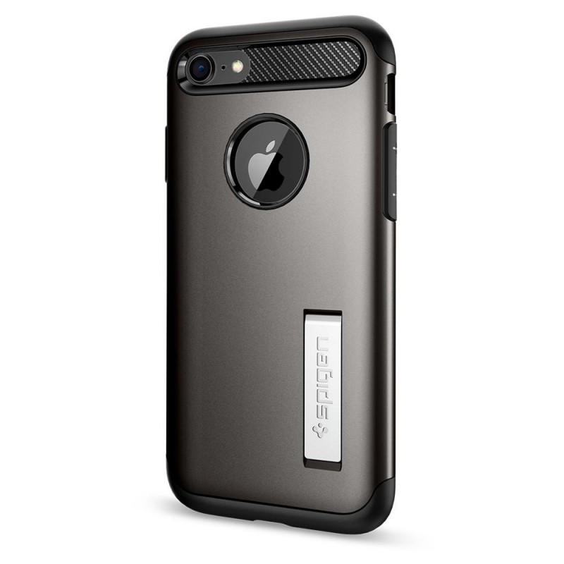 Spigen Slim Armor Case Phone 8/7 Gunmetal - 6