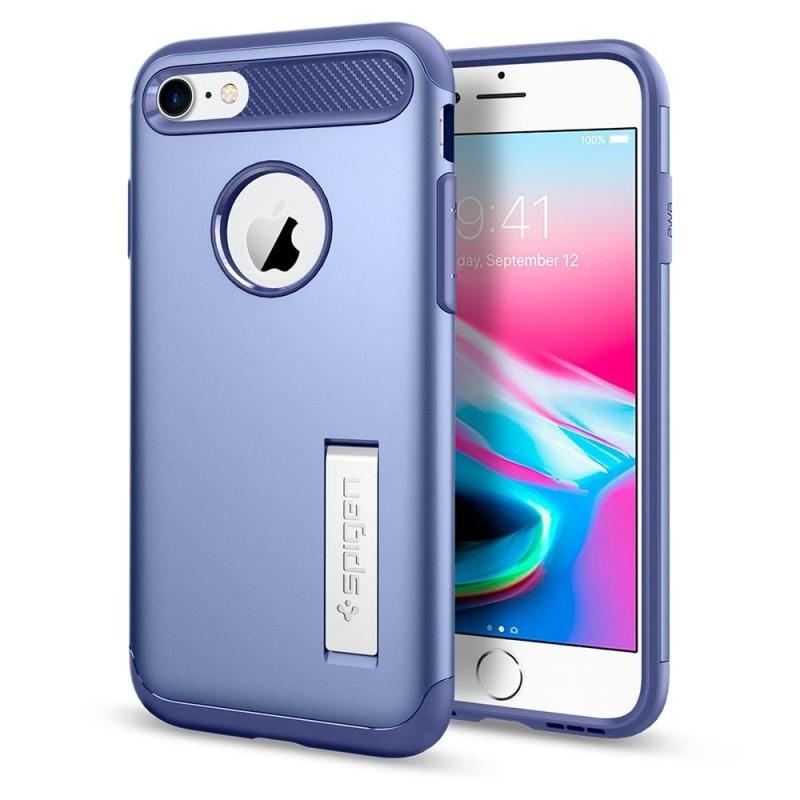 Spigen Slim Armor Case Phone 8/7 Paars - 1