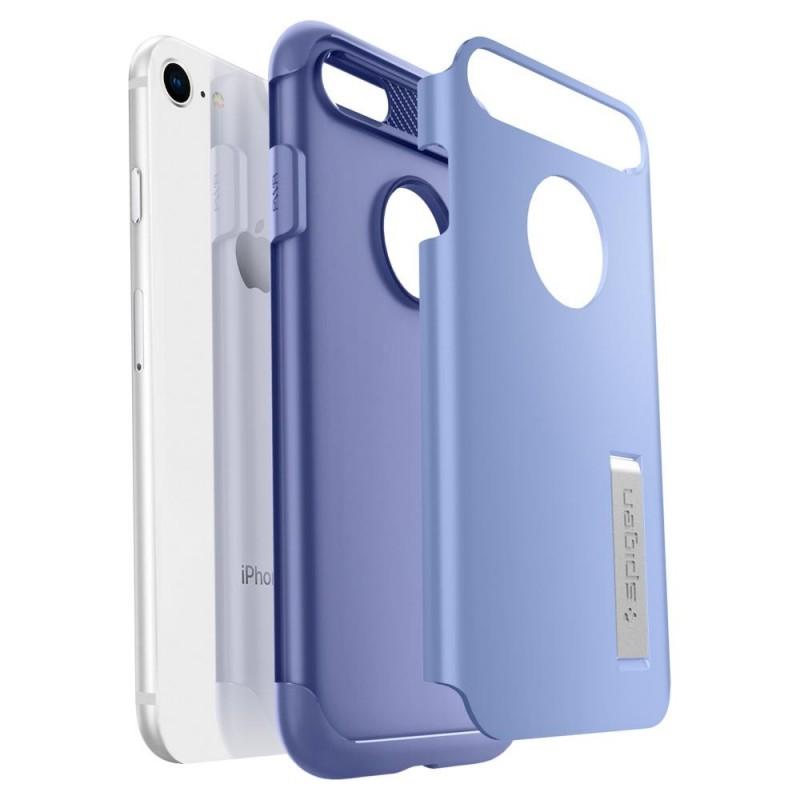 Spigen Slim Armor Case Phone 8/7 Paars - 3