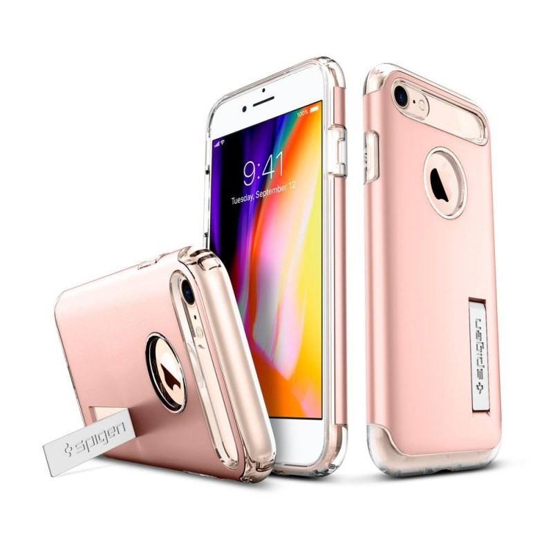 Spigen Slim Armor Case Phone 8/7 Roze - 2