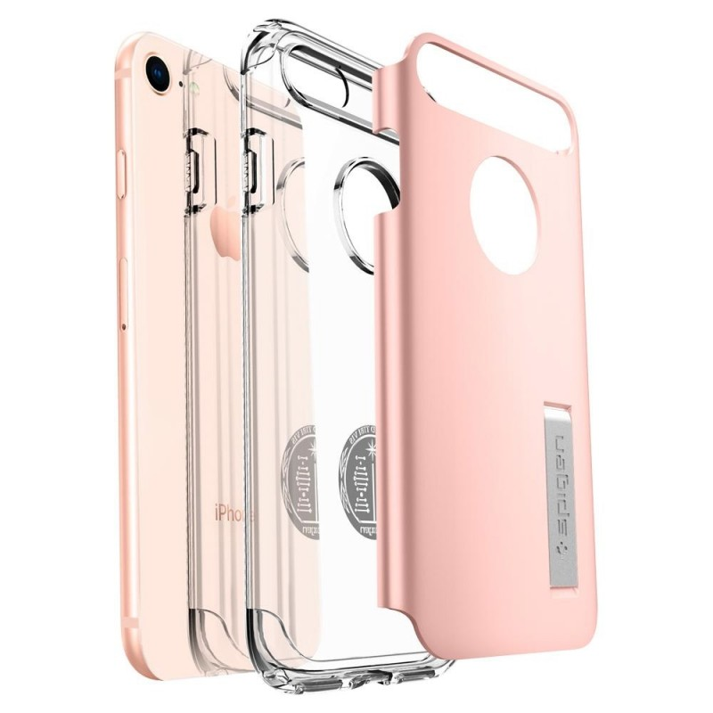Spigen Slim Armor Case Phone 8/7 Roze - 3