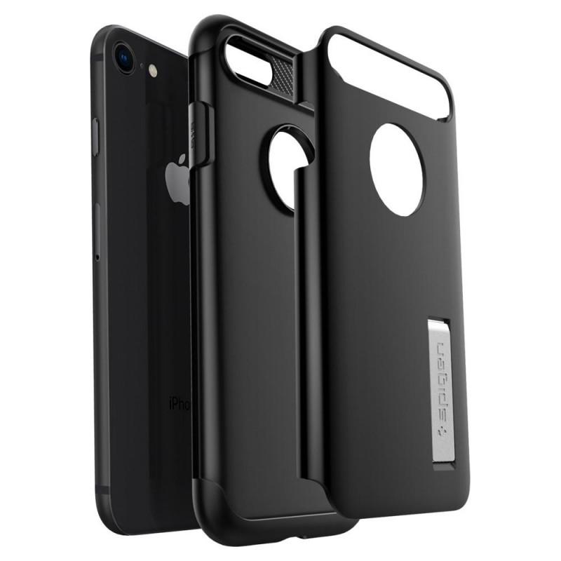 Spigen Slim Armor Case Phone 8/7 Zwart - 4