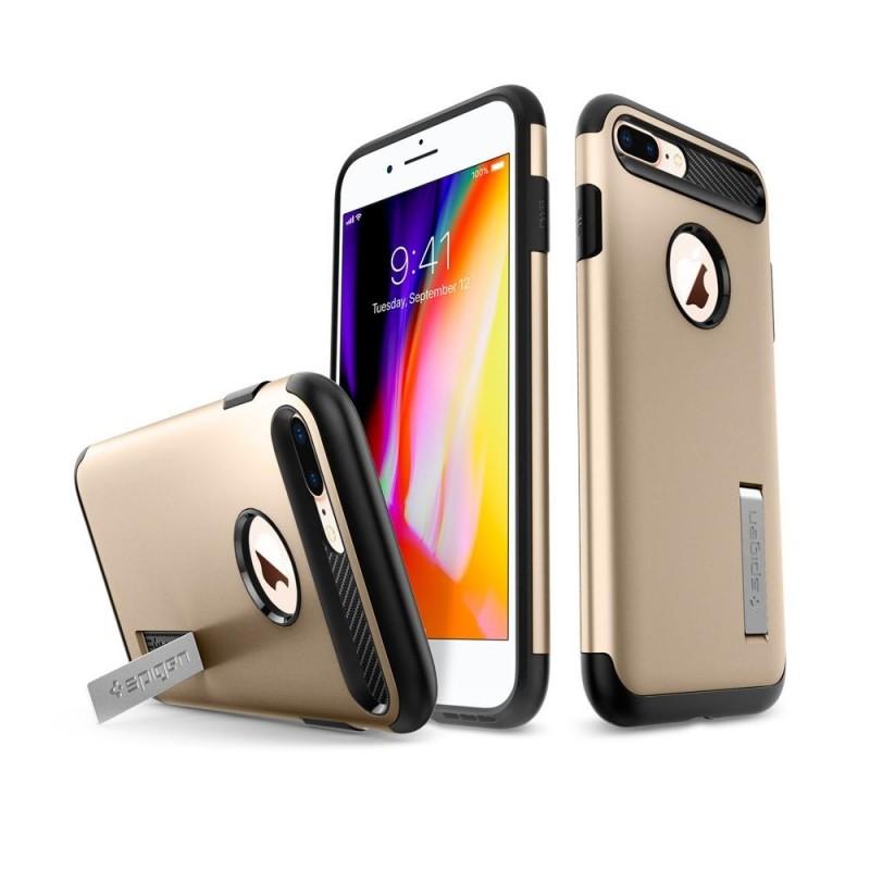 Spigen Slim Armor Case iPhone 8 Plus/7 Plus Champagne - 2