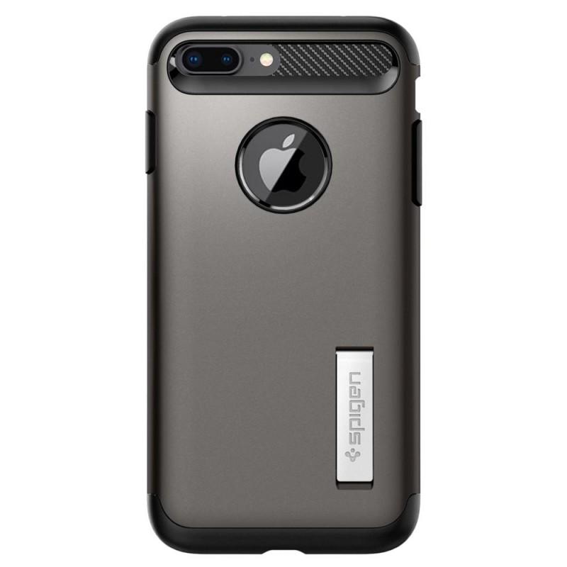Spigen Slim Armor Case iPhone 8 Plus/7 Plus Gunmetal - 7
