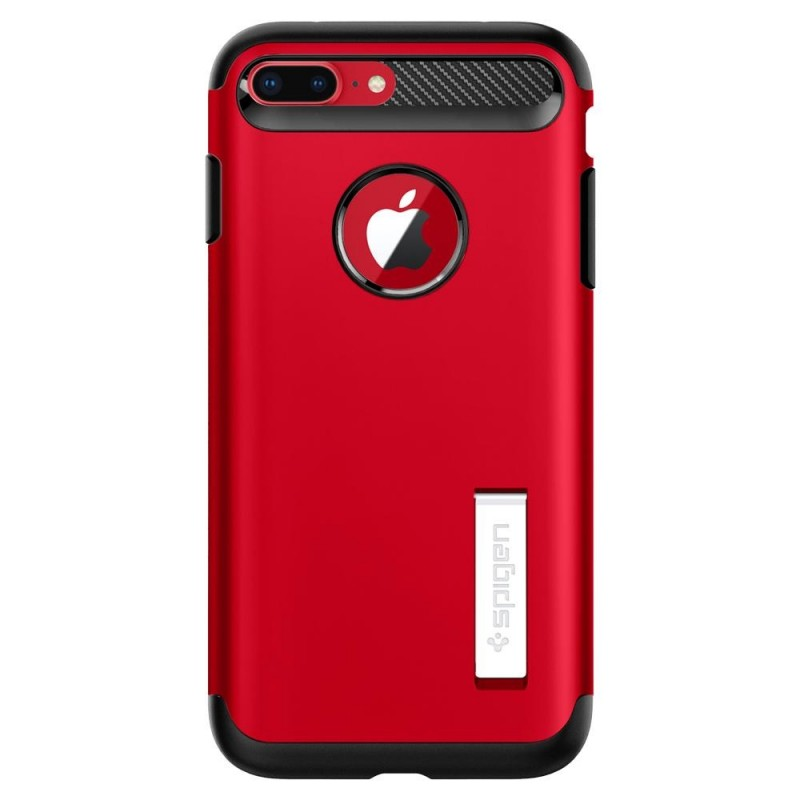 Spigen Slim Armor Case iPhone 8 Plus/7 Plus Rood - 7