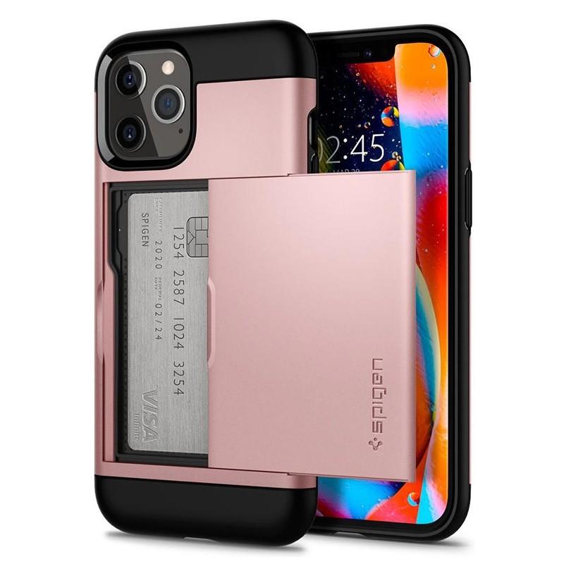 Spigen Slim Armor CS iPhone 12 / iPhone 12 Pro 6.1 inch Rose Gold 01