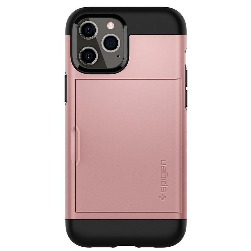 Spigen Slim Armor CS iPhone 12 / iPhone 12 Pro 6.1 inch Rose Gold 04