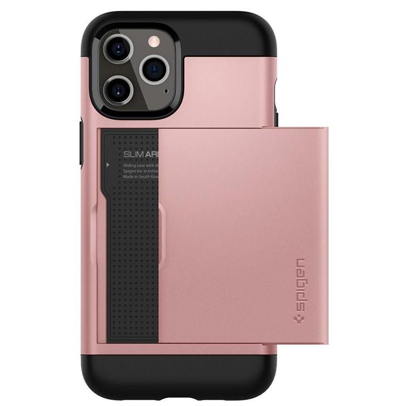 Spigen Slim Armor CS iPhone 12 Pro Max 6.7 inch Rose Gold 09