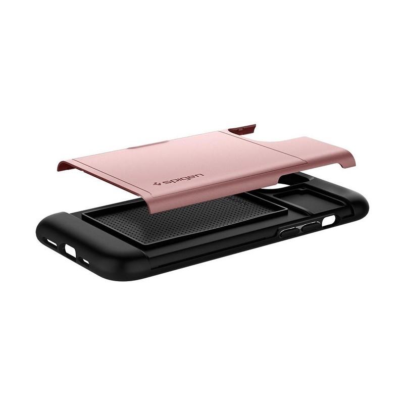 Spigen Slim Armor CS iPhone 12 Pro Max 6.7 inch Rose Gold 06