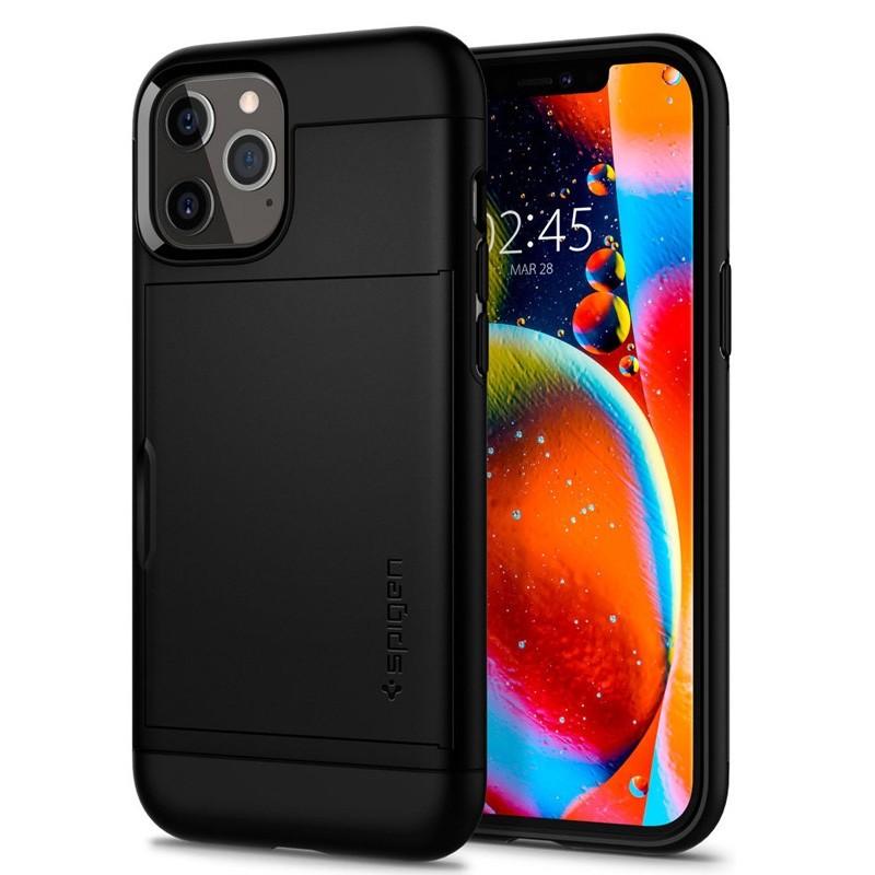 Spigen - Slim Armor CS iPhone 12 / iPhone 12 Pro 6.1 inch zwart 05