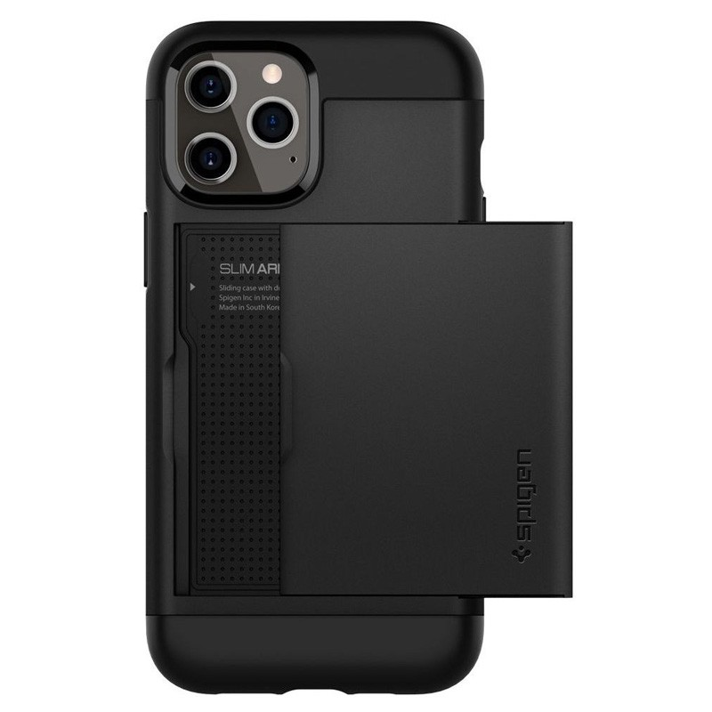 Spigen - Slim Armor CS iPhone 12 / iPhone 12 Pro 6.1 inch zwart 07