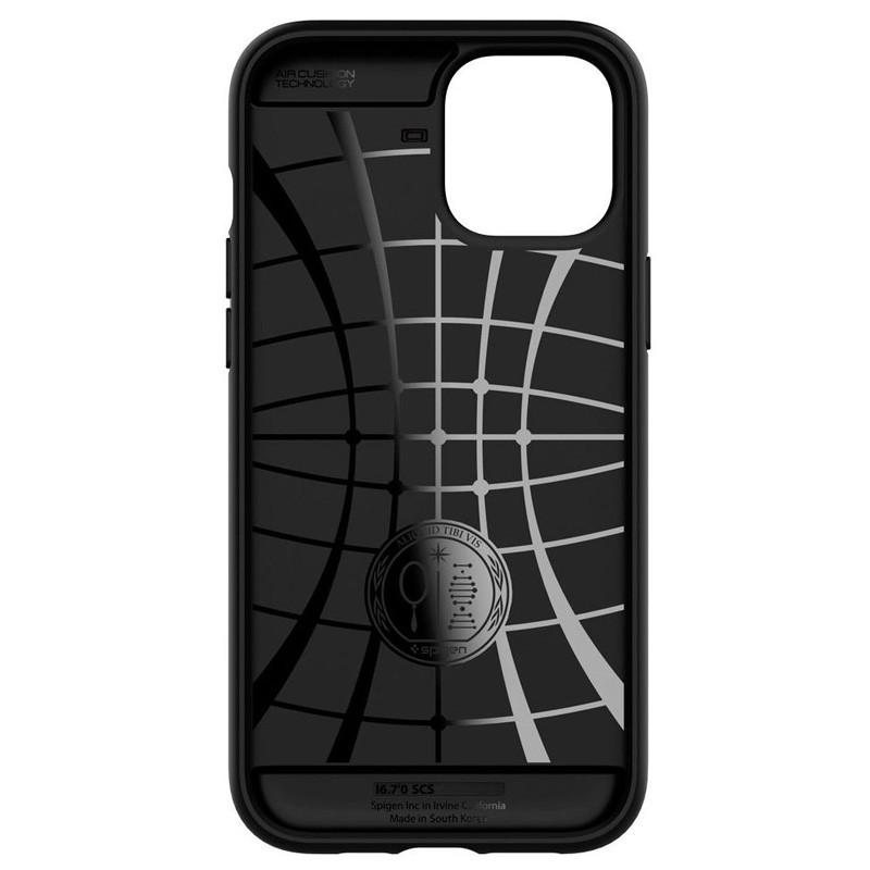 Spigen - Slim Armor CS iPhone 12 / iPhone 12 Pro 6.1 inch zwart 06