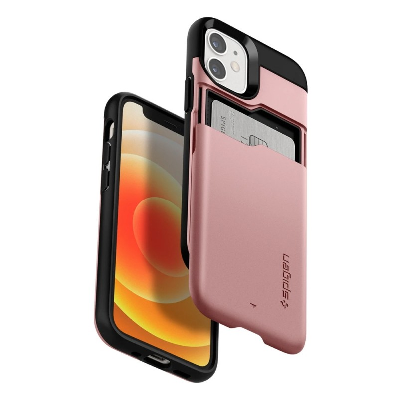Spigen Slim Armor CS iPhone 12 Mini Roze - 7