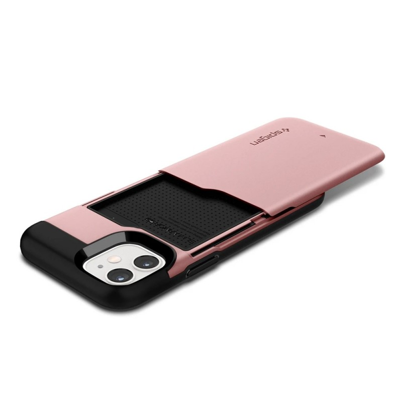 Spigen Slim Armor CS iPhone 12 Mini Roze - 2