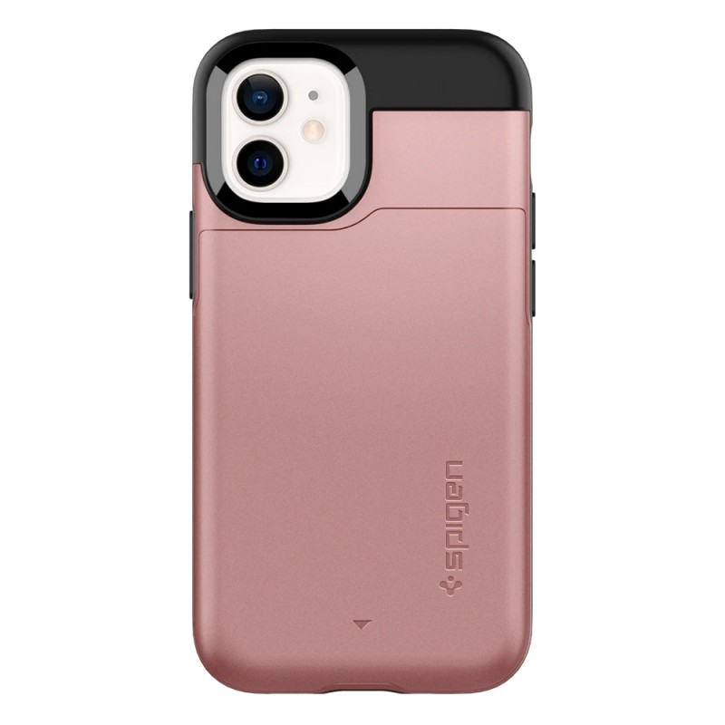 Spigen Slim Armor CS iPhone 12 Mini Roze - 4