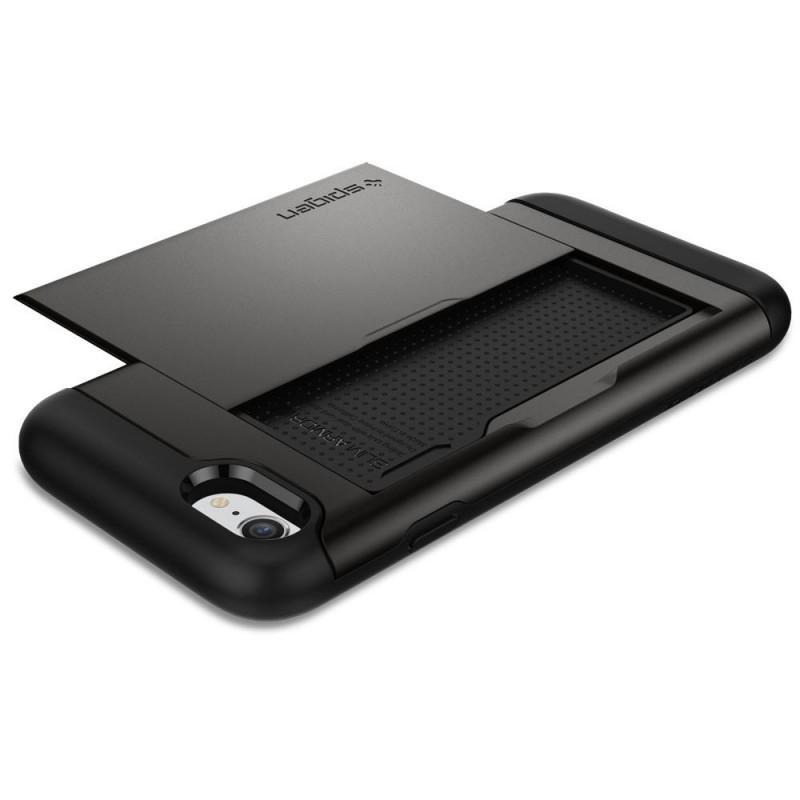 Spigen Slim Armor CS iPhone SE (2020)/8/7 Hoesje Gunmetal - 4