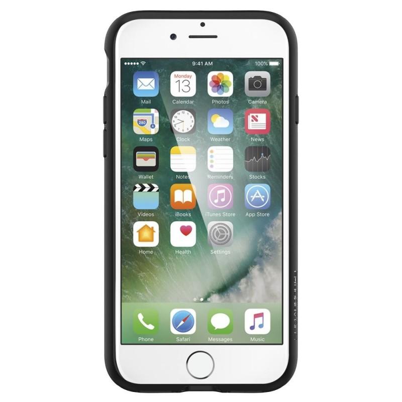 Spigen Slim Armor CS iPhone SE (2020)/8/7 Hoesje Gunmetal - 7