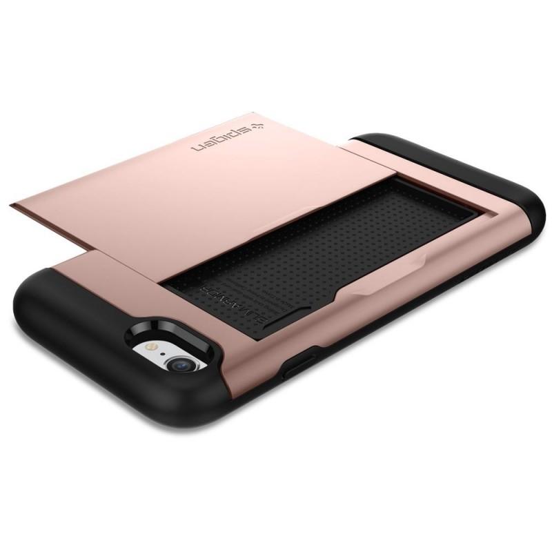 Spigen Slim Armor CS iPhone 8/7 Hoesje Rose Goud - 4