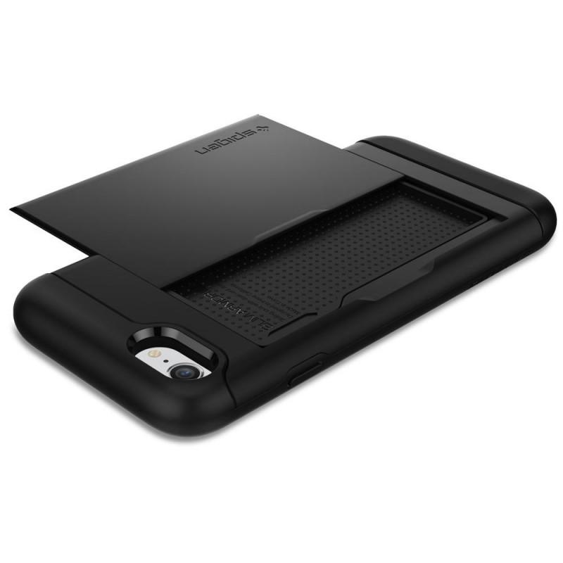Spigen Slim Armor CS iPhone 8/7 Hoesje Zwart - 3