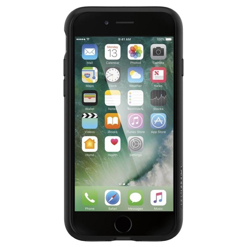 Spigen Slim Armor CS iPhone 8/7 Hoesje Zwart - 8