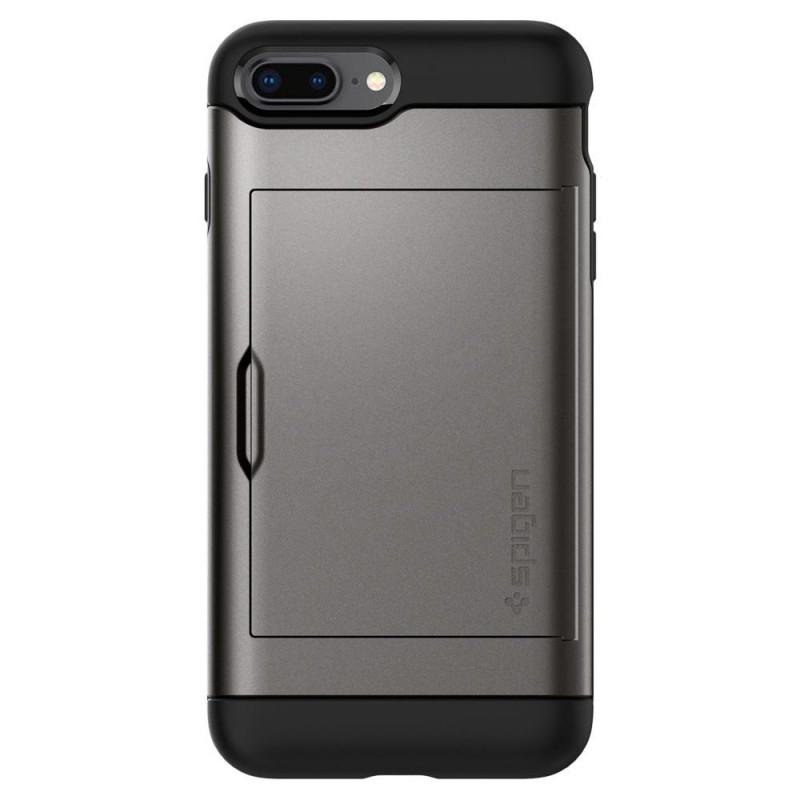 Spigen Slim Armor CS iPhone 8 Plus/7 Plus Gunmetal - 6